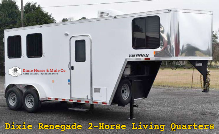 Dixie Renegade by Dixie Horse & Mule Co. Full living quarters starting at $19,995!