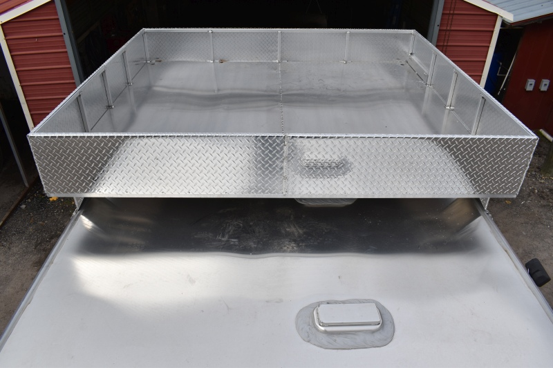Aluminum Aerodynamic Hay Rack Hay Racks For Horse Trailers