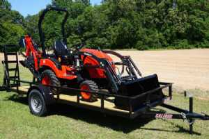 Brawny Branson 22HP Backhoe Package
