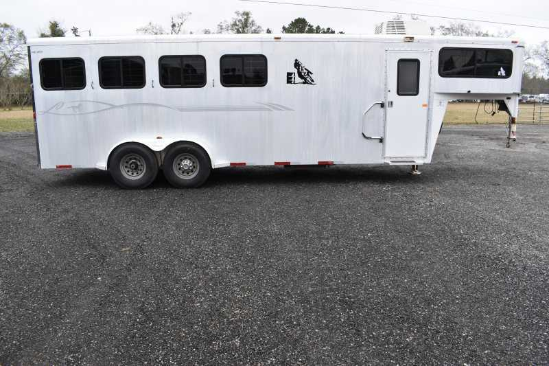 #43830 - Used 2003 Legend 4h LQ 4 Horse Trailer  with 5' Short Wall