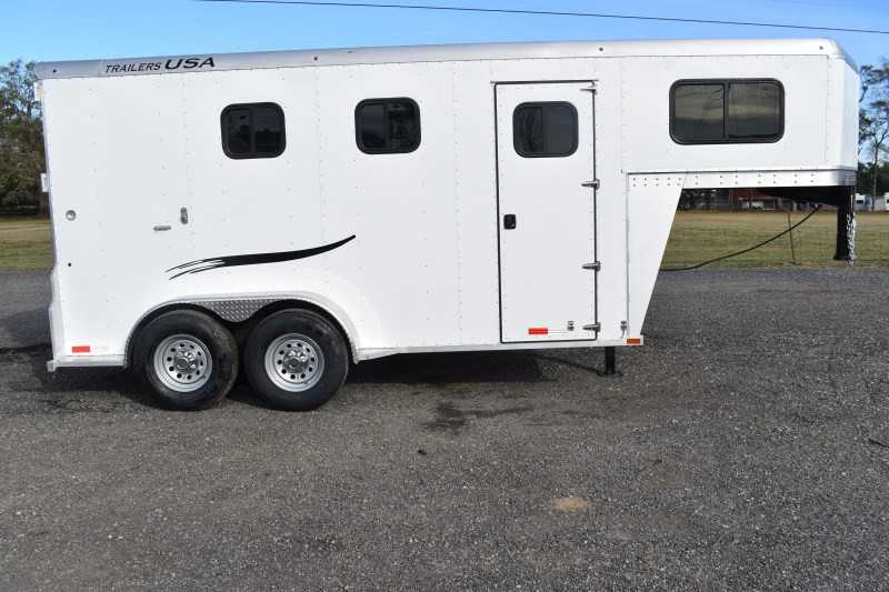 #29302 - New 2019 Trailers USA Dixie Rampage 234THGN 4 Horse Trailer