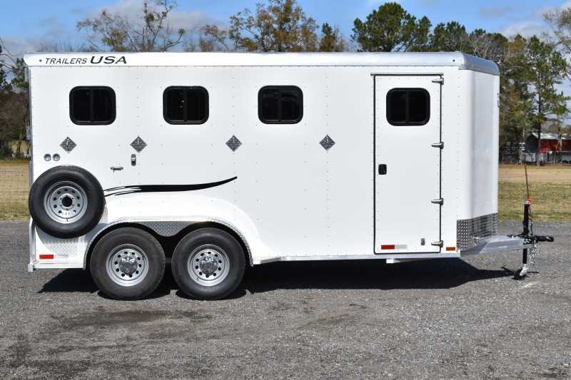 #29315 - New 2019 Trailers USA Dixie Rampage 234THBP 4 Horse Trailer