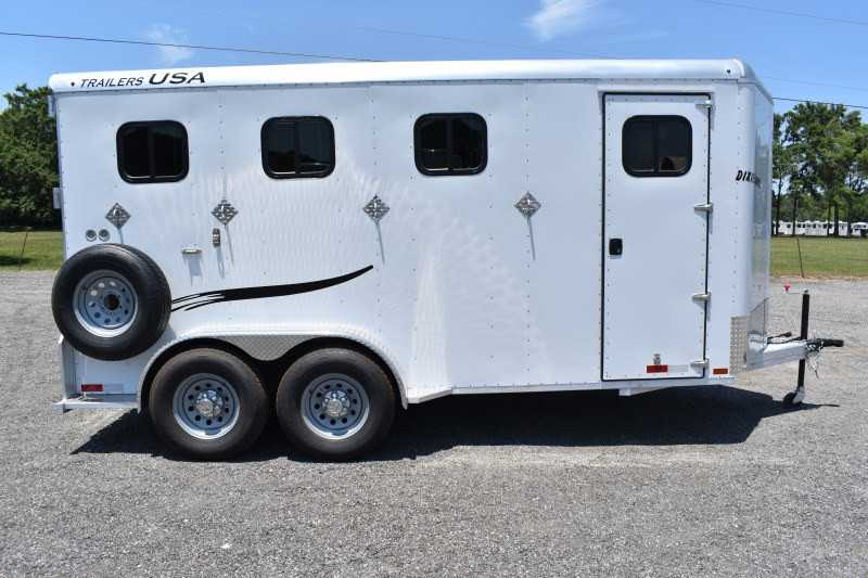 #29318 - New 2019 Trailers USA Dixie Rampage 234THBP 4 Horse Trailer