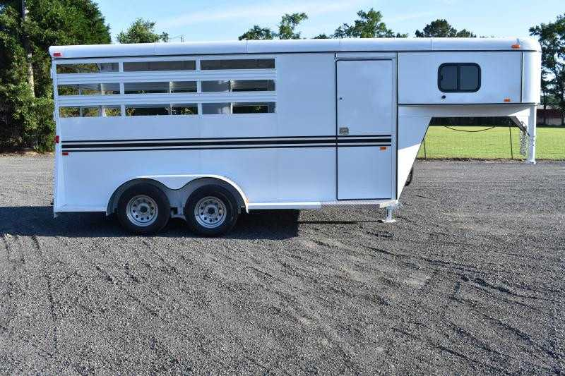 #77005 - New 2019 Bee 3HGNSL 3 Horse Trailer with 2' Short Wall