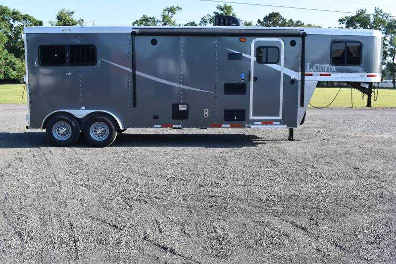 #00069 - New 2020 Lakota Colt 7209 2 Horse Trailer  with 9' Short Wall