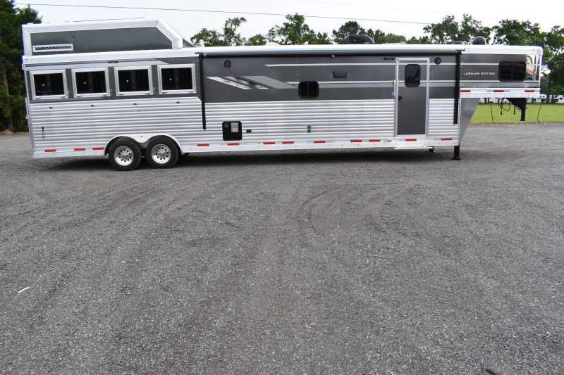 #00168 - New 2020 SMC SL8416SSRUG 4 Horse Trailer  with 16' Short Wall