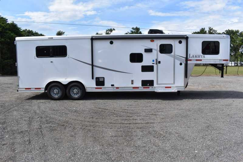 #00154 - New 2020 Lakota Colt 8309SO 3 Horse Trailer  with 9' Short Wall