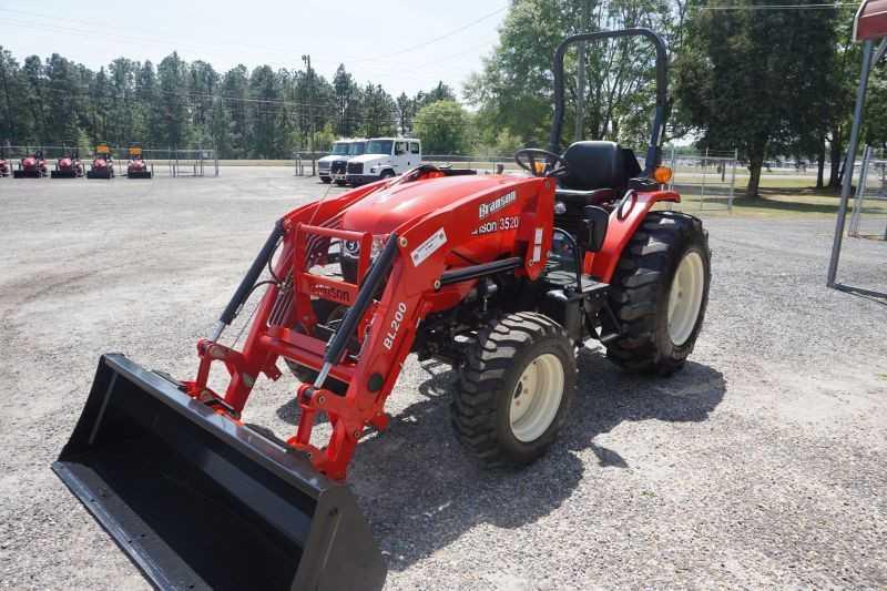 #00009 - New 2019 Branson 3520R Tractor