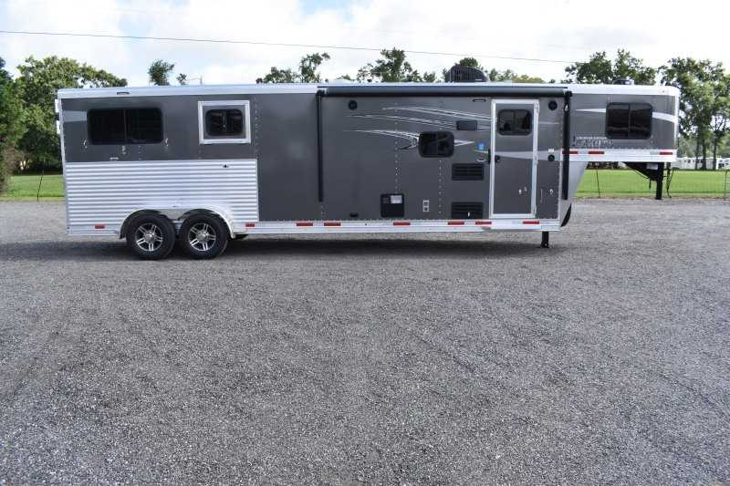 #00359 - New 2020 Lakota 7209GLQ Charger 2 Horse Trailer  with 9' Short Wall