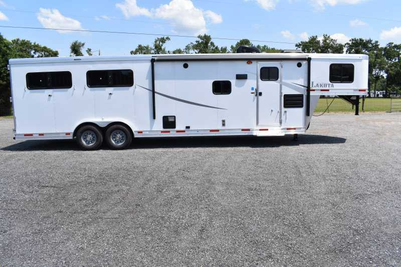 #00390 - New 2020 Lakota Colt 8411SO 4 Horse Trailer  with 11' Short Wall