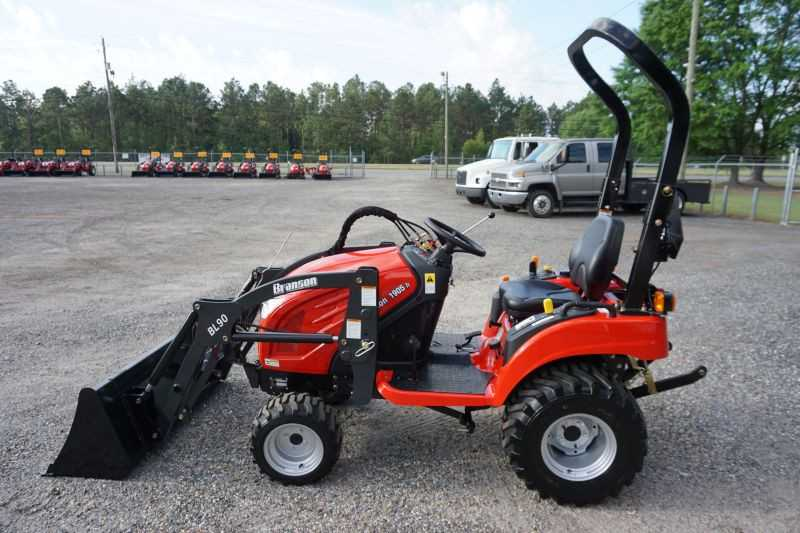 #00553 - New 2019 Branson 1905H Tractor