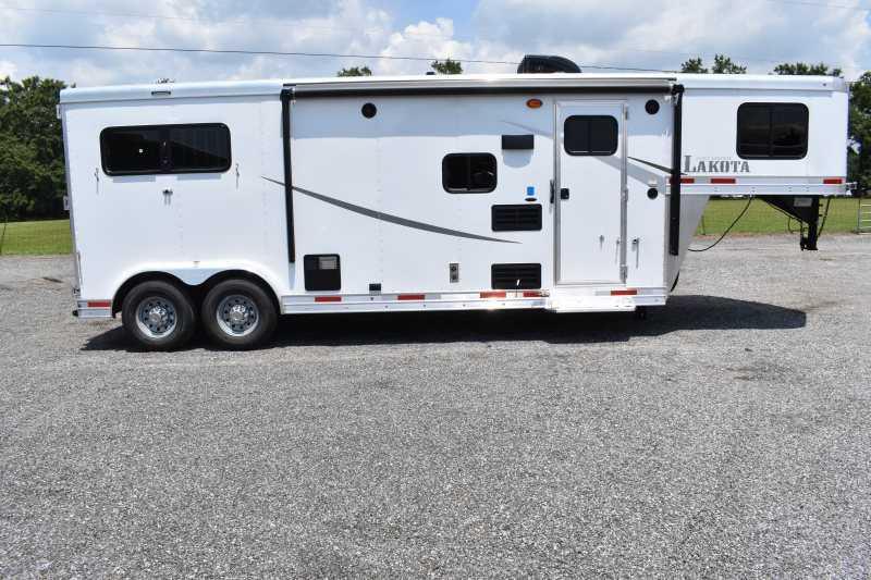 #00430 - New 2020 Lakota Colt 8209 2 Horse Trailer  with 9' Short Wall