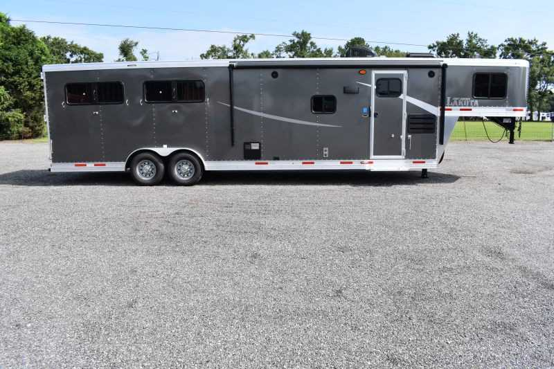 #00465 - New 2020 Lakota Colt 8411SO 4 Horse Trailer  with 11' Short Wall