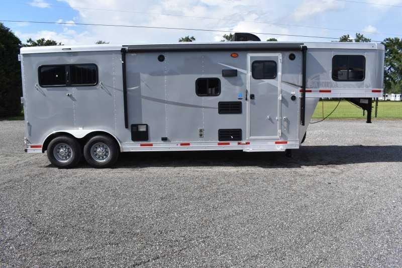 #00496 - New 2020 Lakota Colt 8209SO 2 Horse Trailer  with 9' Short Wall