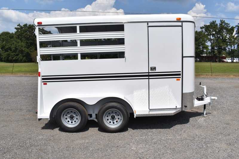 #77106 - New 2020 Bee 2HBPSL 2 Horse Trailer  with 2' Short Wall