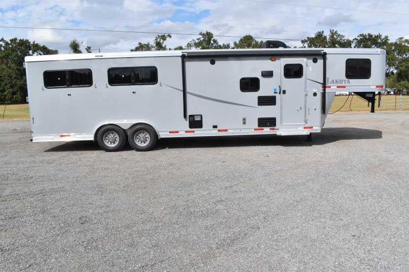 #00514 - New 2020 Lakota Colt 8409 4 Horse Trailer  with 9' Short Wall