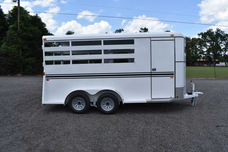 #77065 - New 2020 Bee 3HBPSL 3 Horse Trailer  with 2' Short Wall