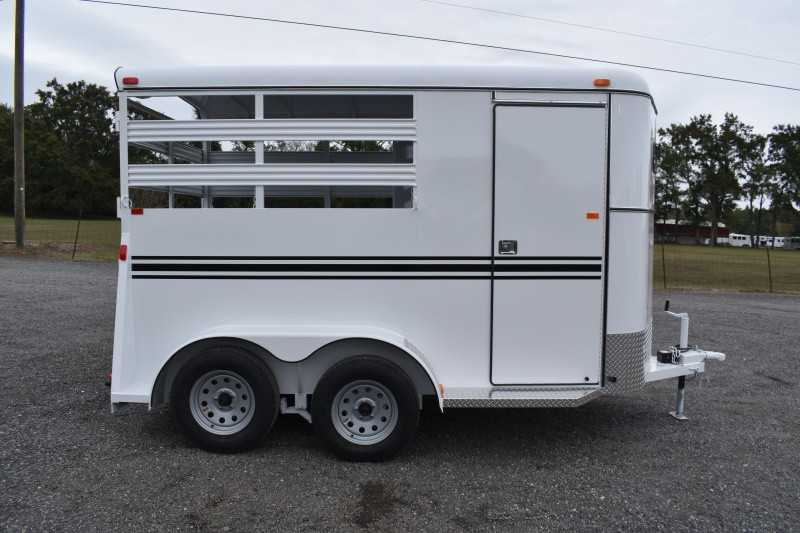 #77153 - New 2020 Bee 2HBPSL 2 Horse Trailer  with 2' Short Wall