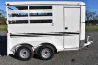 #77179 - New 2020 Bee 2HBPSL 2 Horse Trailer  with 2' Short Wall
