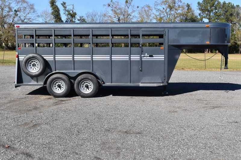 #77188 - New 2020 Bee 16 GN STK Stock Trailer