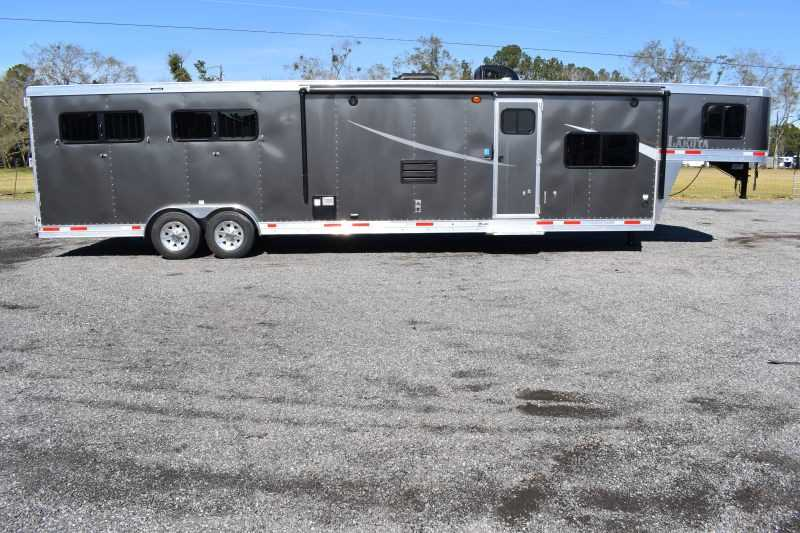 #01155 - New 2020 Lakota Colt 8415SO 4 Horse Trailer  with 15' Short Wall