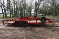 #40004 - New 2020 Trailer World UT 7X18 Double 3500 Utility Trailer