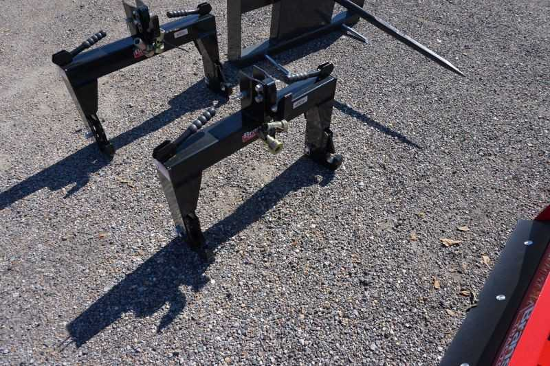 #05169 - New 2020 Titan Mfg. QH1A Category 1 Quick Hitch
