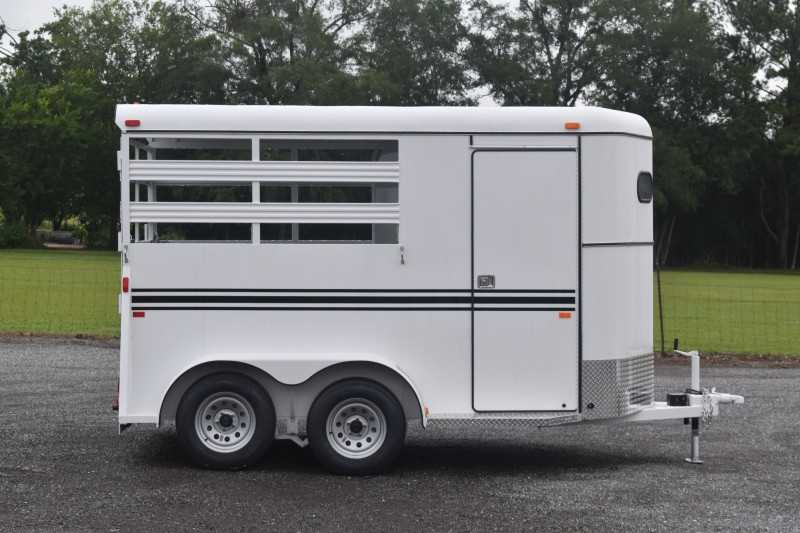 #77267 - New 2021 Bee 2HBPSL 2 Horse Trailer  with 2' Short Wall