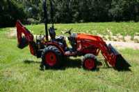 New 2020 Branson 2505H Back Hoe Tractor