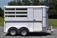 New 2021 Bee 2HBPSL 2 Horse Trailer  with 2' Short Wall