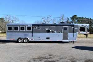 New 2021 Lakota 8416SRBGLQ BIGHORN 4 Horse Trailer  with 16' Short Wall