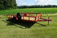 New 2020 Trailer World UT6x16 Single 5200 Utility Trailer