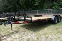 New 2020 Freddy's Trailers LLC 7x18 Car Hauler Utility Trailer
