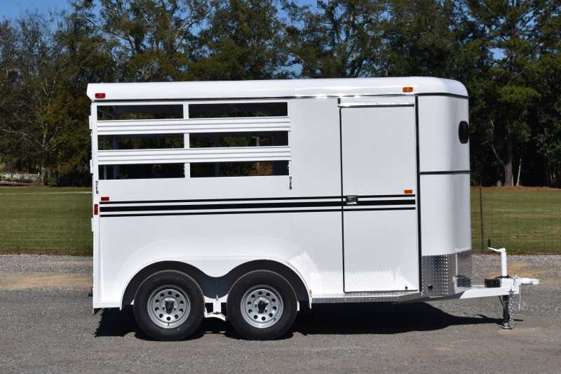 #77364 - New 2021 Bee 2HBPSL 2 Horse Trailer  with 2' Short Wall