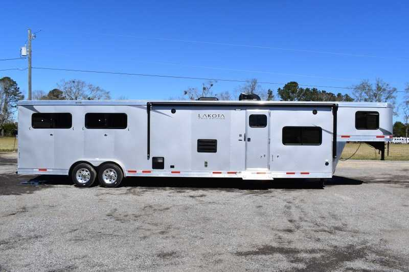 New 2021 Lakota Colt 8415SO 4 Horse Trailer with 15' Short Wall