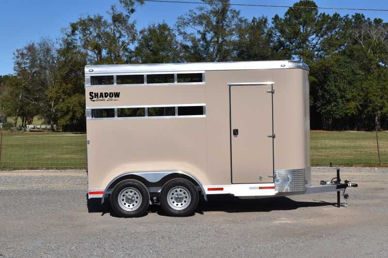 #73966 - New 2021 Shadow 2HBPSL 2 Horse Trailer  with 2' Short Wall