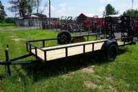 New 2021 Trailer World UT5X14 Single 3500 Utility Trailer