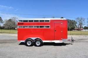 New 2021 Shadow 3HBPSL 3 Horse Trailer  with 2' Short Wall