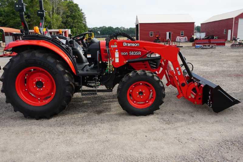 New Branson 58-HP Tractor