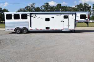 New 2022 Lakota Charger 8315SRB 3 Horse Trailer  with 15' Short Wall