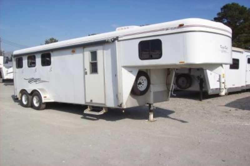 2007 Kiefer Built Evolution 7310 Horse Trailer Coldwater Mi Haylett: Kiefer Horse Trailer Wiring Diagram At Satuska.co