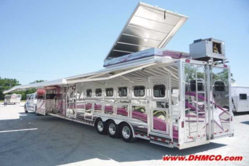 Bloomer Horse Trailer For Sale Used 2006 5 Horse Trailer