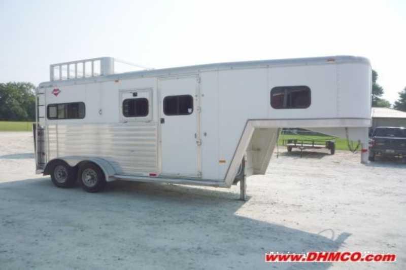 used 2 horse hart horse trailer gooseneck horse trailer dixie