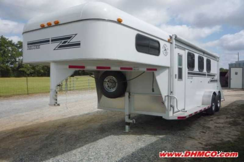 D And D Trailers >> Used 3 Horse Double D Horse Trailer Gooseneck Horse Trailer