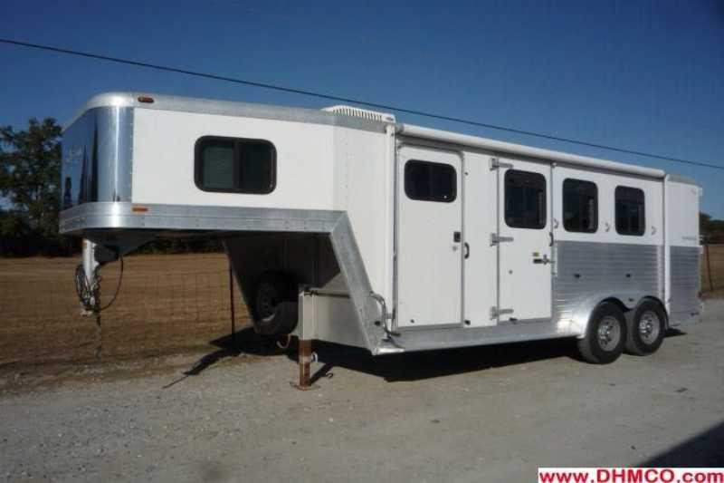 3 Horse Kiefer Built Trailer With Living Quarters: Kiefer Horse Trailer Wiring Diagram At Satuska.co