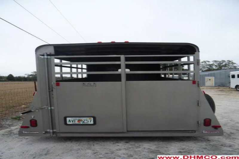 #77408 - Used 2011 Bee 16' Stock Trailer
