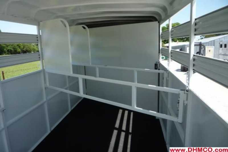 New 2012 Dixie Tuff 4 Horse Slant Trailer