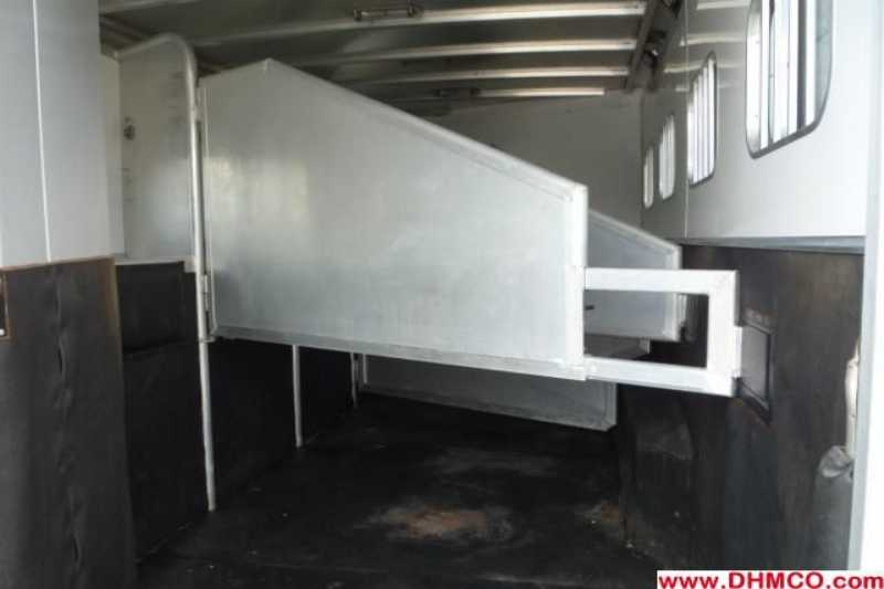 #29770 - Used 2004 Exiss XT410MTLQ 4 Horse Trailer  with 10' Short Wall