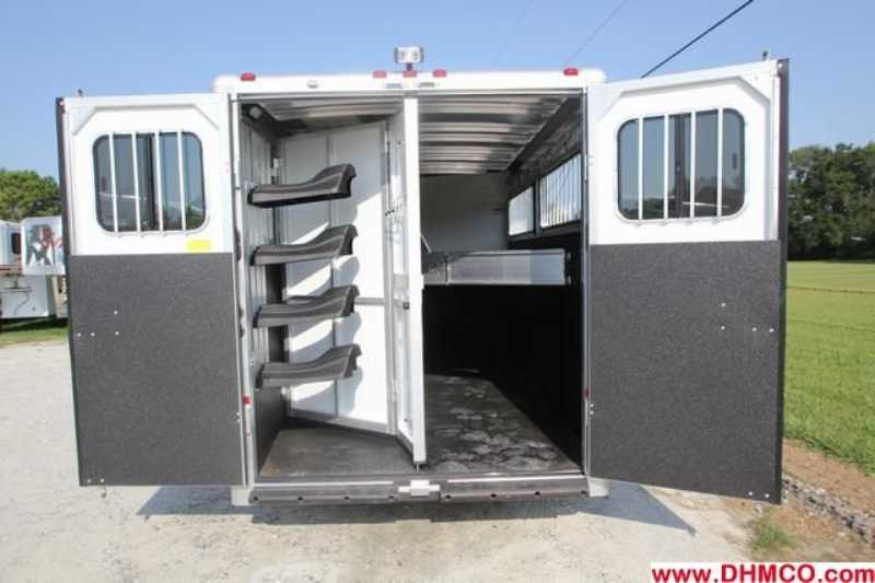 #A6340 - New 2013 Sundowner SPORTMAN4HGN 4 Horse Trailer  with 4' Short Wall