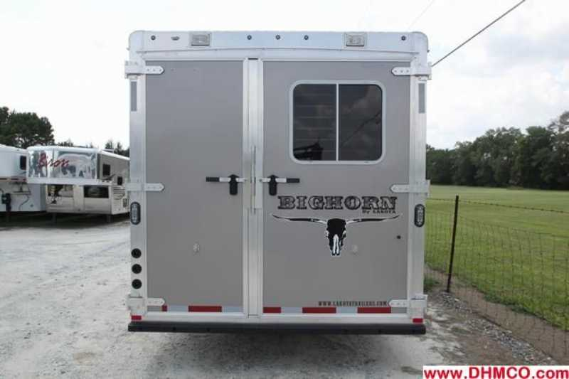 #87077 - New 2013 Lakota BIGHORN 8416GLQ 4 Horse Trailer  with 16' Short Wall